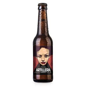 Cerveza morena artillera 2