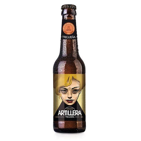Cerveza triguena artillera 2